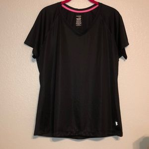 Danskin Now Black Dri-fit Shirt XL